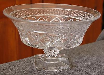 """Lovely Imperial """"cape Cod"""" 10-Inch Footed Pedestal Bowl #1"""