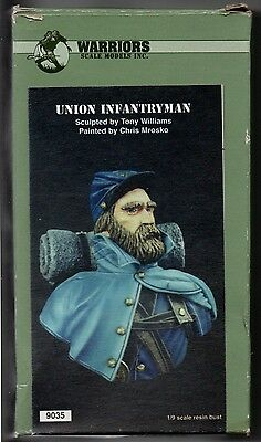 Warriors Scale Models 9035 - Union Infantryman - 1/9 Resin Kt