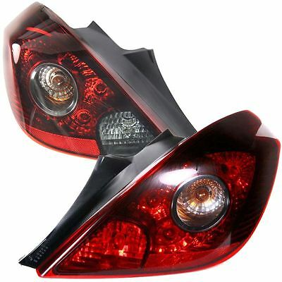 Vauxhall Corsa D Mk3 2006-2011 Vxr Style Rear Tail Lights 1 Pair O/s & N/s