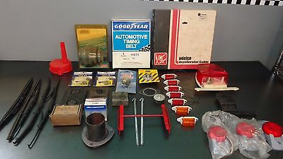 Wholesale Lot Vintage Auto Parts Store Grote Mielco Champ Goodyear Stant Bosch