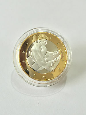 Six Euro's Novelty Sex Gold Plated Coin #1 - Free Postage