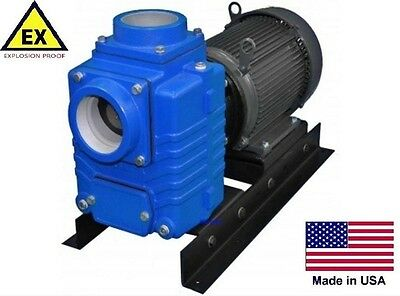 """CENTRIFUGAL PUMP - Explosion Proof - 520 GPM - 10 Hp - 208-230/460V - 3 Ph - 4"""""""