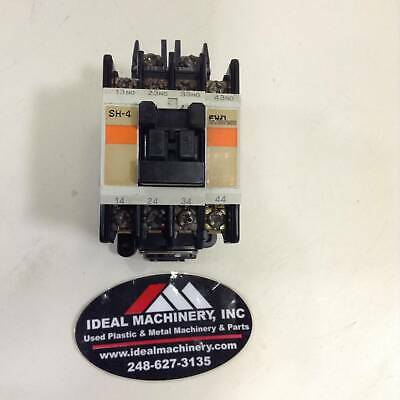 FUJI ELECTRIC Magnetic Contactor / Relay SH-4 4SH440 Used #77933