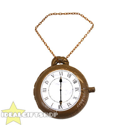 Inflatable Clock Party Supplies Blow Up Pocket Watch Fancy Dress Prop Decoration