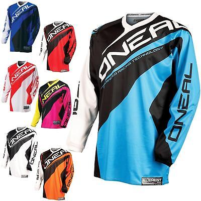 O'Neal Element Racewear Jersey Motocross MX Enduro DH FR Mountain Bike MTB BMX
