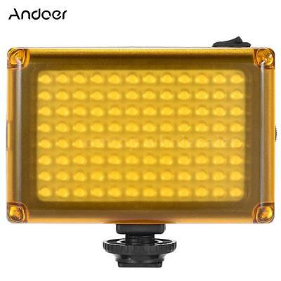 LED Video Light Fill-in Lamp Dimmable for Canon Nikon DSLR Camera Camcorder F7D6