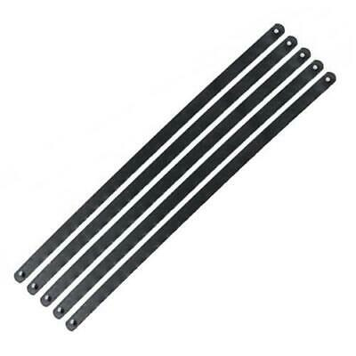 """6"""" 24TPI Junior Hacksaw Saw Carbon Steel Replacement Blades 150mm - Pack of 5"""
