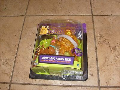 Scooby-Doo Action Pack Crazy Faced Scooby & 10,000 Volt Ghost 2-Pack 2003 Equity