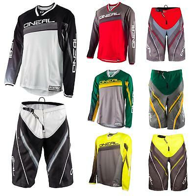 O'Neal Element FR Freeride Fahrrad Combo Short & Jersey Mountain Bike MTB DH BMX