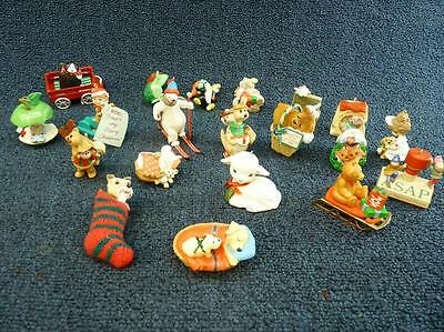 Lot of 20 Various Hallmark Christmas Ornaments CUTE NO BOXES (o1486)