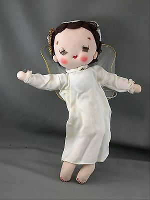 Yasuda & Co Angel Doll with Halo & Wings Made In Japan
