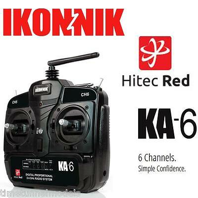 Ikonnik RED KA6 6 Channel Twin Stick Transmitter & Receiver (Suits air and land)