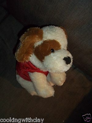 New Plush Doll Figure Applause Mandee Russ Berrie Snowflake Christmas Dog