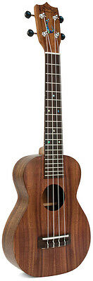Lanikai Kaena Hawaiian Made Solid Koa Concert Acoustic Ukulele - FREE Hard Case