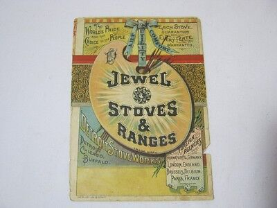 Jewel Stoves & Ranges Antique Advertising  T*