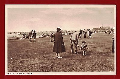 Great Britain early Golf postcard mint