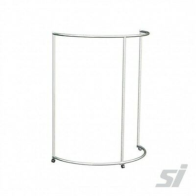 Ajustable Half Round Ring Clothes Rack - garment Stand fashion store retail