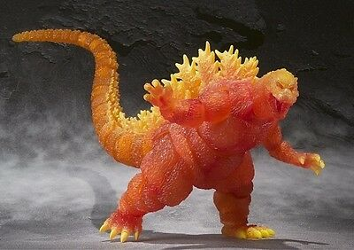 S.H. MonsterArts Burning Godzilla action figure Bandai SDCC Exclusive