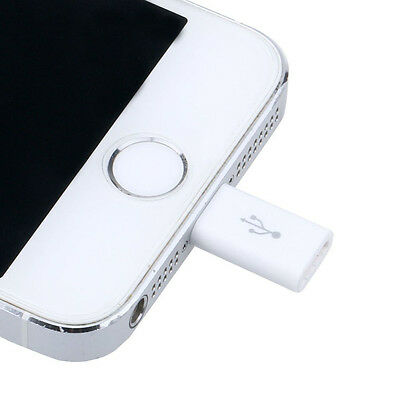 Good Micro USB for Apple Adapter Converter USB Cable Charger For iPhone5 6