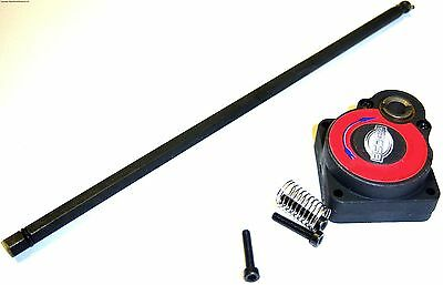 RC Electric Roto Starter Nitro Engine Backplate and Rod 14mm - 3 hole