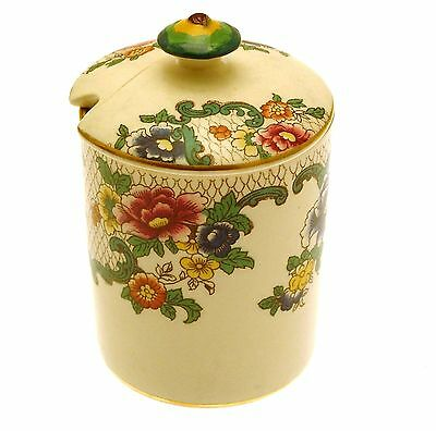 Royal Cauldon Victoria Marmalade Pot or Jam Pot NOT PERFECT