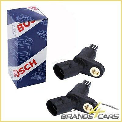 2x ORIGINAL BOSCH ABS SENSOR HINTEN VW BORA 1J CADDY 2 PICK UP BJ 96-00