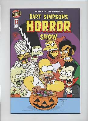 Bart Simpsons Horror Show # 13 Variant - Comic Action 2009 - Top
