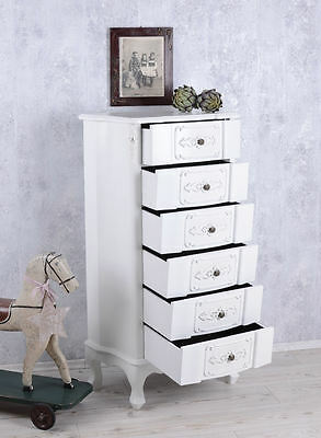 commode shabby chic armoire vintage tiroirs cabinet apothicaire eur 269 00 picclick fr. Black Bedroom Furniture Sets. Home Design Ideas