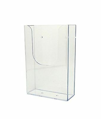 Source One Tall Boy Trifold Wide Wall Mount Brochure Holder (TB)