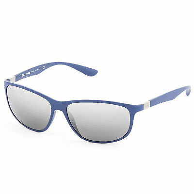 Ray-Ban LiteForce Sunglasses 61mm (Blue / Grey Gradient Mirror)