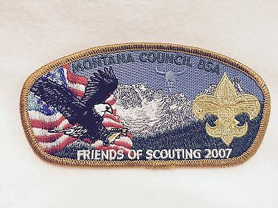 Boy Scouts-  2007 Montana Council - Friends of Scouting csp