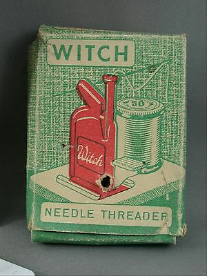 Witch Automatic Needle Threader In Box With Instructions Sewing Made in Germany