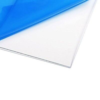 Source One LLC 3/8 th Inch Thick 12 x 12 Inches Acrylic Plexiglass Sheet, Cle...