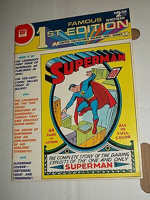 DC Whitman SUPERMAN C-61 Treasury Sized Famous 1st Collector's Edition