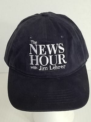 The News Hour with Jim Lehrer Ball Cap Hat