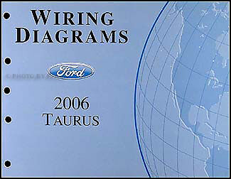 2006 ford taurus oem electrical wiring diagrams service manual 2006 2007 ford taurus wiring diagrams manual original oem electrical schematics