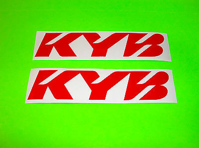 Cr Crf Yz Yzf Rm Rmz Kx Kxf 50 65 80 85 125 250 450 Kyb Red Suspension Stickers