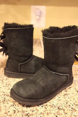 7e2532dbcd3 UGG-AUSTRALIA-WOMENS-BAILEY-BOW-BOOTS-1002954-BLACK SIZE 6 (ugg100