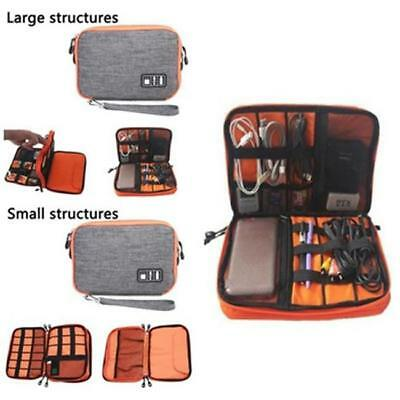 1PC Electronic Accessories Cable USB Drive Organizer Bag Travel Insert Case - LD