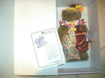 """Annette Funicello Clown Shorty Bear 15""""  LIMITED EDITION"""
