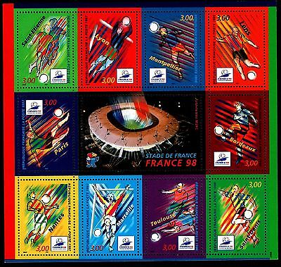 BLOC Football FRANCE 1998, Neuf ** / Lot Timbres France n°19