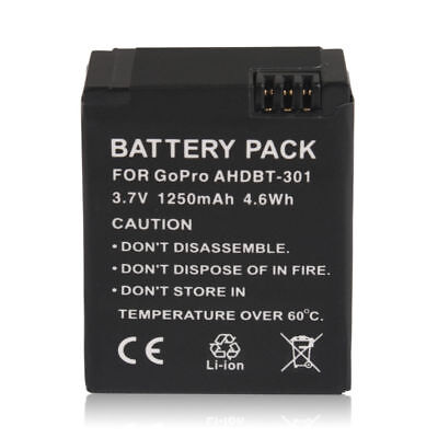 AU local Replacement Battery for GoPro HD HERO 3 3+ with Black Edition AHDBT-301