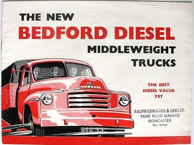 BEDFORD A4+A5 Diesels - Commercial Sales Brochure - Apr 1953 - #B 566 A/4/53
