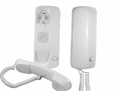 Wired Home Office Door Phone Interphone Intercom System with 20 Feet Cable