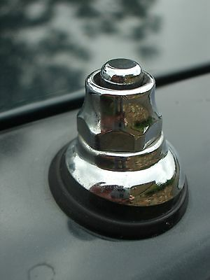 Aerial Chrome Top Nut fittings Classic Ford Capri Cortina Escort Granada Sierra