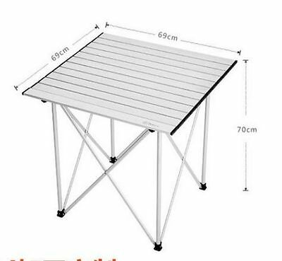 New Aluminium Folding Portable Camping Picnic Party Dining Table Chair