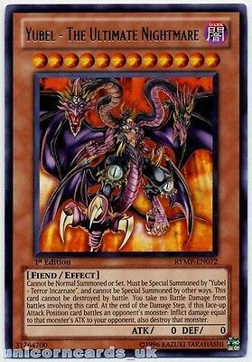 RYMP-EN072 Yubel - The Ultimate Nightmare Rare 1st Edition Mint YuGiOh Card