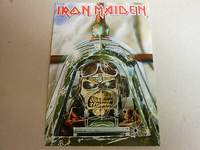 IRON MAIDEN post card ACES HIGH