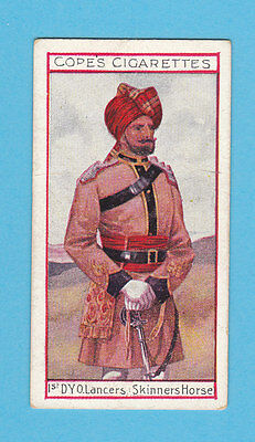 Military  -  Cope  Bros.  -  Rare Eminent British Officers Card No. 15  -  1908