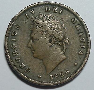 Great Britain   Penny. 1826.     George 1V.
